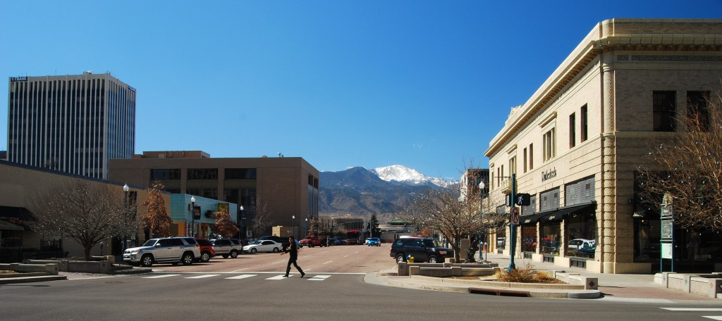 Walkable neighborhoods in Colorado Springs