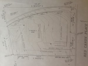 3764 Red Canon Place residential building lot on West Side