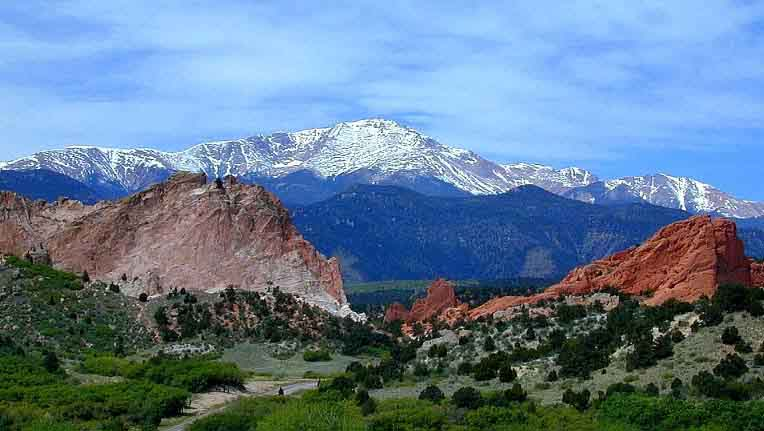 Colorado Springs. A beautiful place to live, work and play.