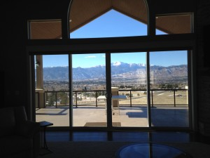 Colorado Springs neighborhoods with Pikes Peak views
